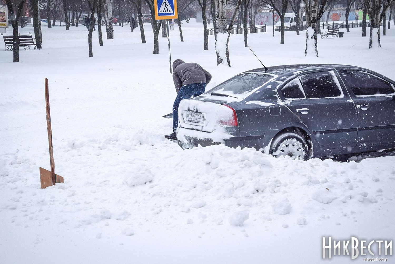 Государство Украину ожидают сильные снегопады иштормовой ветер