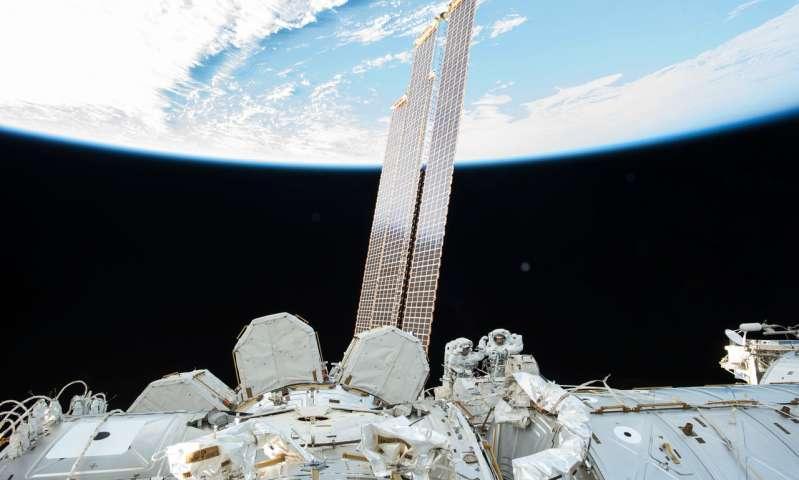 Технические работы забортом МКС удачно завершены астронавтами NASA