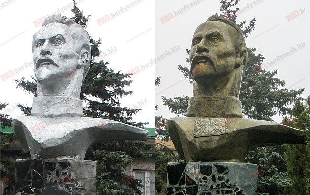 Вгосударстве Украина монумент Дзержинскому переделали вказака