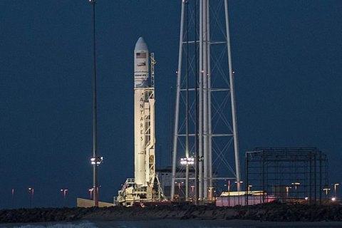 Orbital за несколько секунд до старта отменила запуск космического корабля