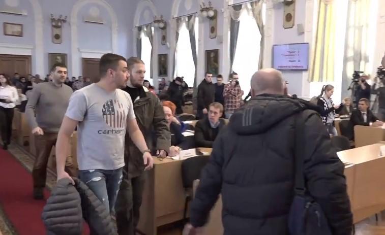 Неизвестные сказали озаминировании Николаевского городского совета— проводится эвакуация