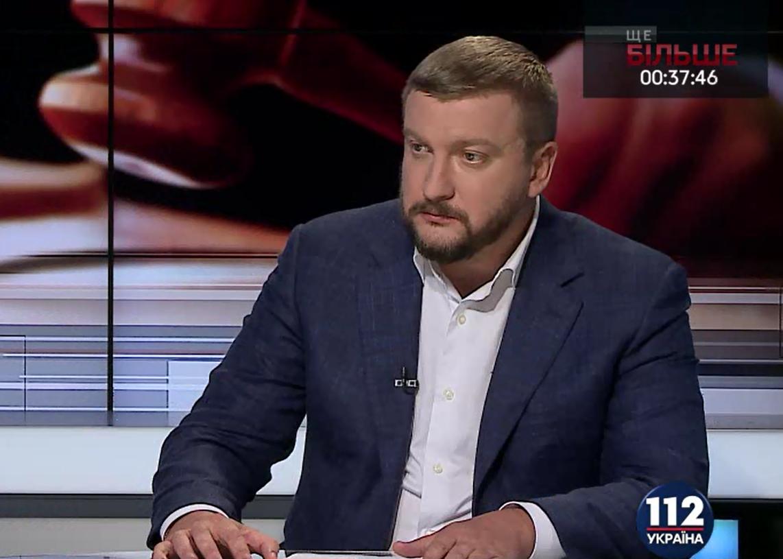 Министр юстиции Украины обзавелся личным охранником