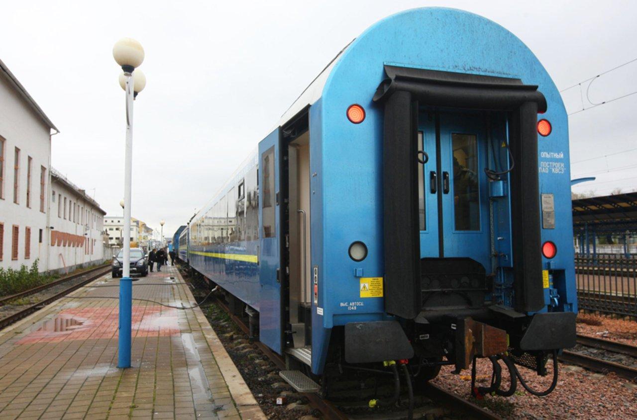 ВКиеве показали новый поезд «Киев-Вена»