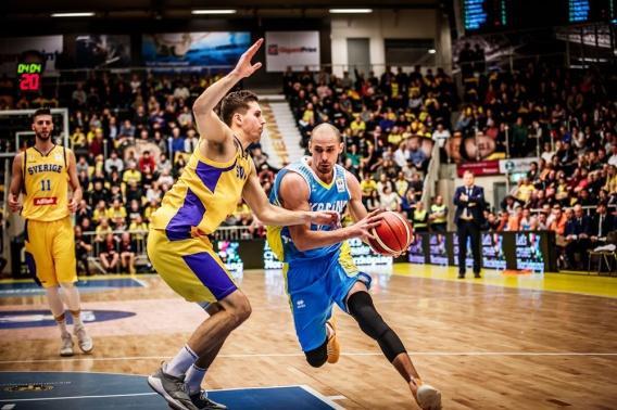 Мужская сборная Украины обыграла Швецию настарте отбора ЧМ— Баскетбол