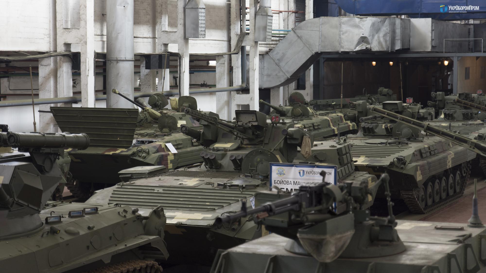 ВЖитомирской области окончено тестирования модернизированной машины БМП-1УМД