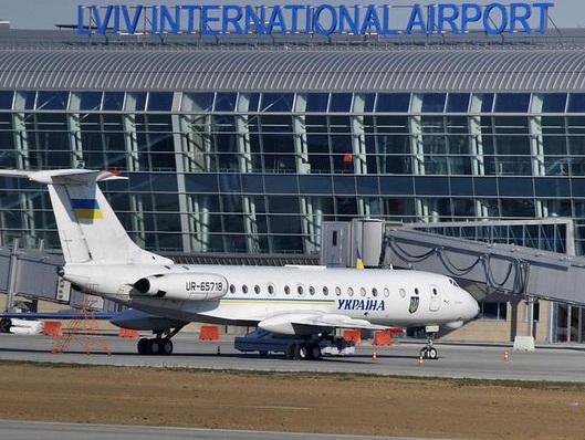 Аэропорт «Львов» впервый раз принял млн. пассажиров
