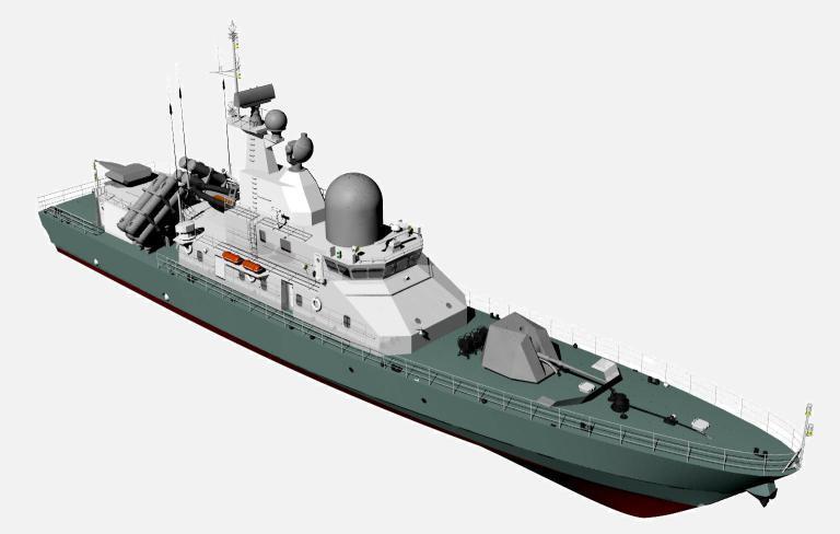 ВМС Украины получат 1-ый серийный катер «Лань» в 2019-ом