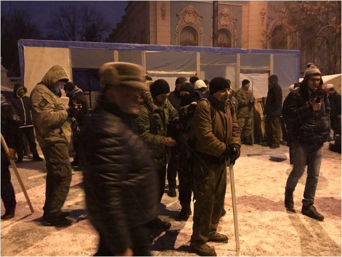 В Киеве сторонники Саакашвили подрались с полицией: есть пострадавшие