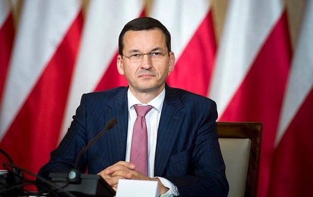 Новый премьер Польши: строить отношения с государством Украина нужно на«исторической правде»