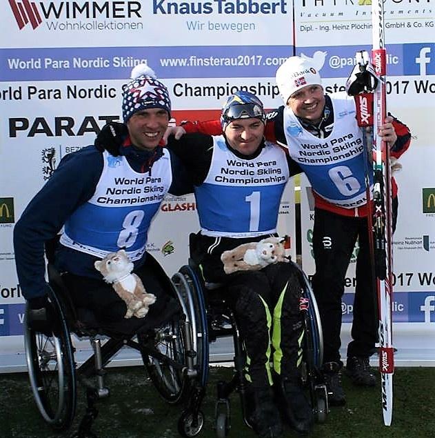 Украинские паралимпийцы завоевали восемь наград Чемпионата мира полыжным гонкам ибиатлону