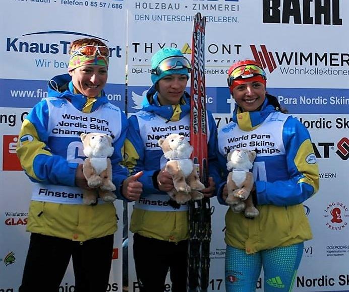 Украинские паралимпийцы завоевали 8 наград чемпионата мира полыжным гонкам ибиатлону