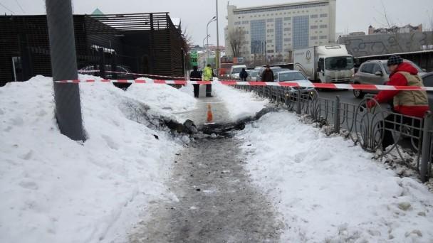 Неподалёку отметро Олимпийская произошел взрыв - есть пострадавшие