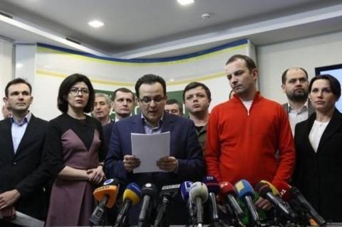 Группа депутатов решила покинуть Раду иприсоединиться кблокаде Донбасса