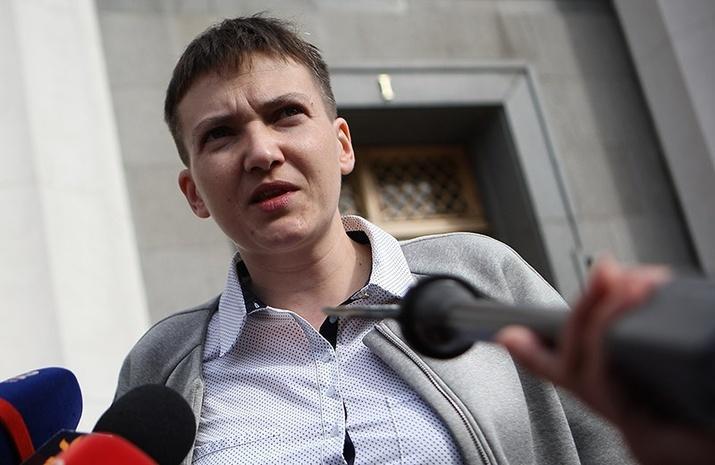 Рычкова: Савченко агитировала военных наДонбассе ехать встолицу Украины исвергать власть
