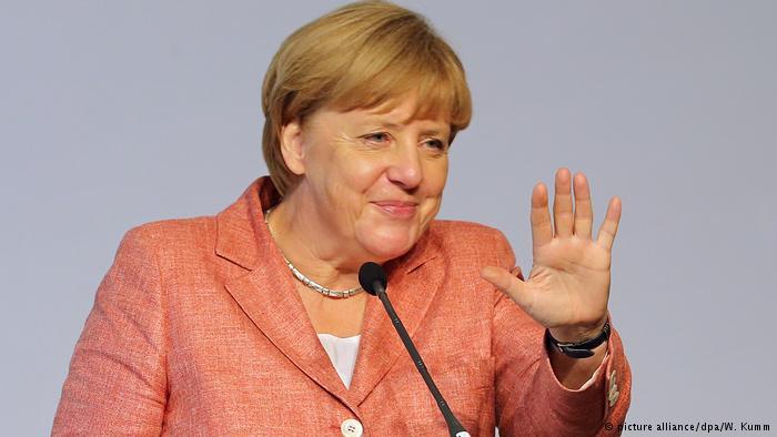 Меркель официально выдвинули кандидатом вканцлеры Германии