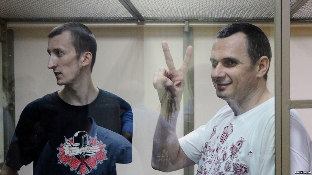 ВКиеве сообщили, чтоРФ повторно отказалась передать Сенцова иКольченко