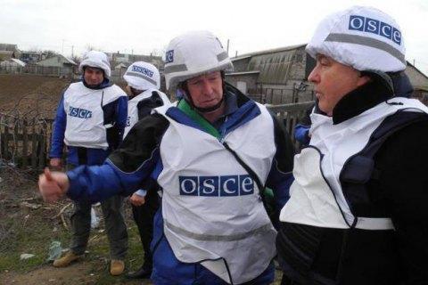 Боевики обстреляли наблюдателей ОБСЕ вблизи Ясиноватой