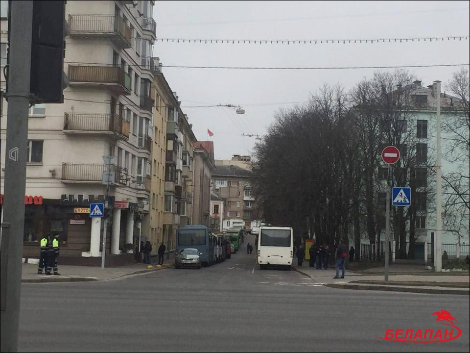 ВМинске задержаны уже десятки участников акции протеста оппозиции