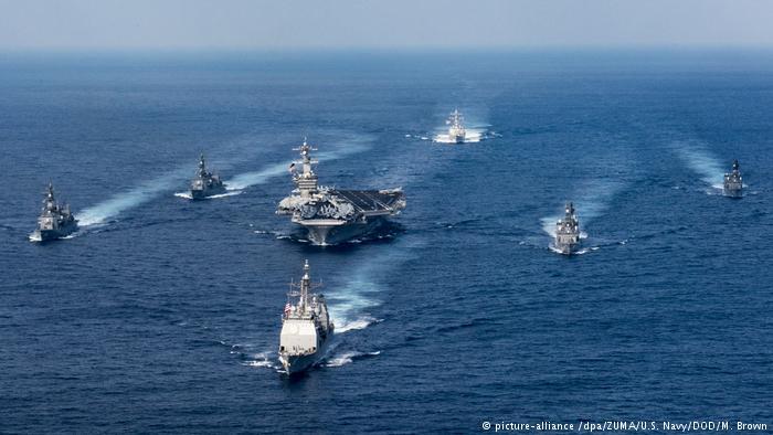 Авианосная группа США направилась кКорейскому полуострову