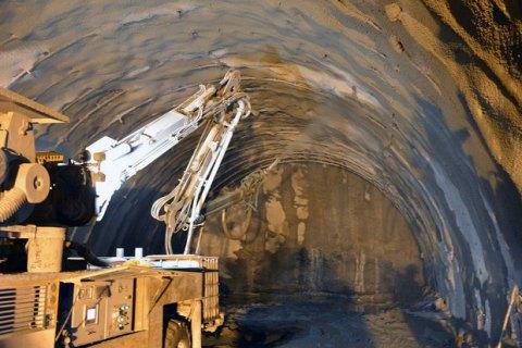 Бескидский тоннель вКарпатах откроют втекущем году