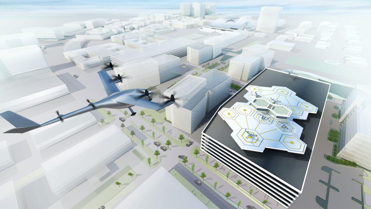 Uber планирует сделать летающий автомобиль к 2020-ому году