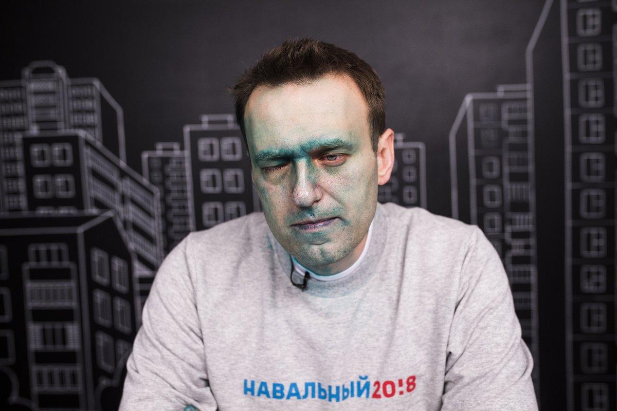 Активисты SERB опознаны как напавшие сзеленкой наНавального