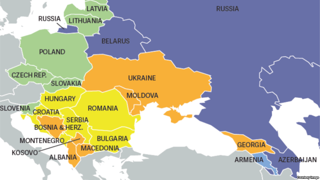 Украина прогрессирует напути демократии,— доклад Freedom House