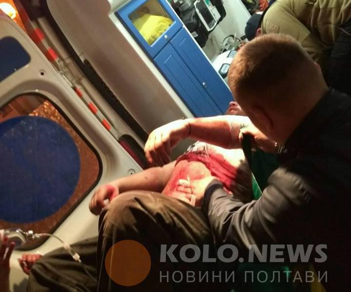 ВПолтаве наакции протеста против застройки произошли стычки, есть пострадавшие