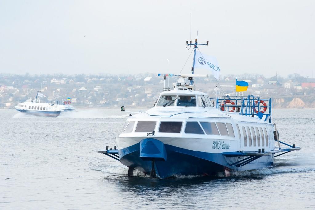 «Нибулон» открывает водное пассажирское сообщение поДнепру иЮжному Бугу