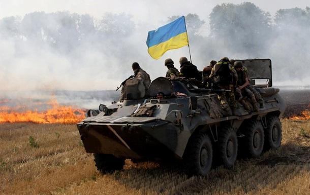 Засутки взоне АТО погибли двое украинских военных