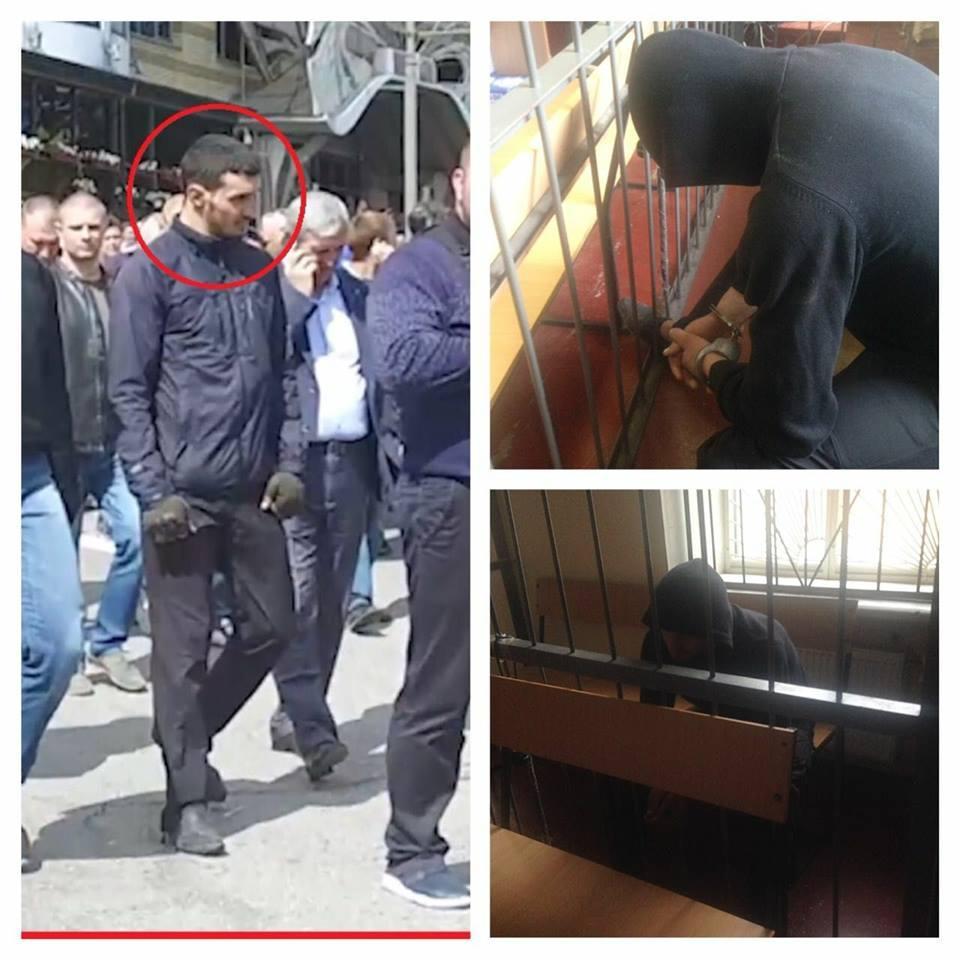 Столкновения 9мая вДнепре: координатора титушек взяли под стражу