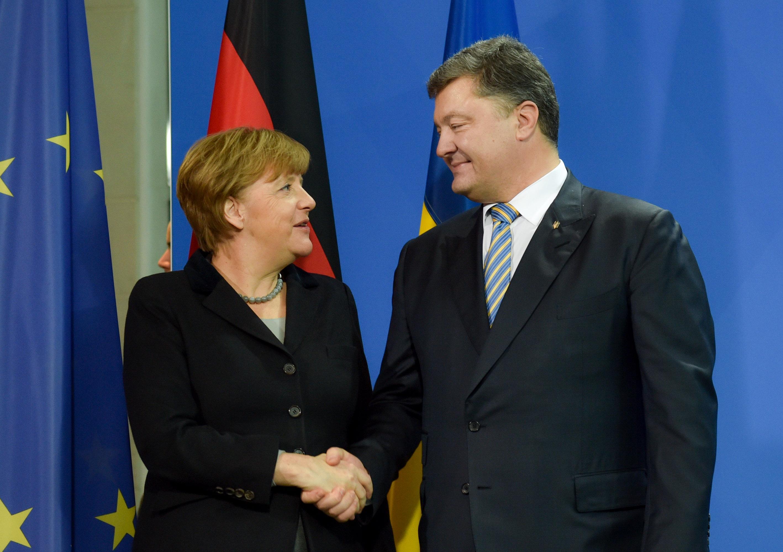 Порошенко иМеркель проведут встречу 20мая взамке под Берлином