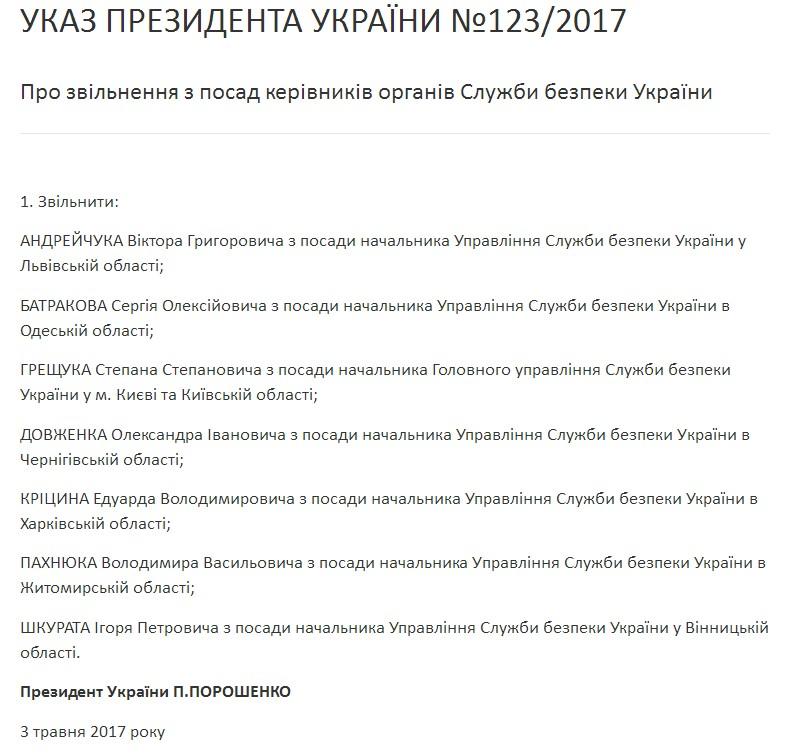 Назначен новый глава харьковской СБУ— Участник военных действий