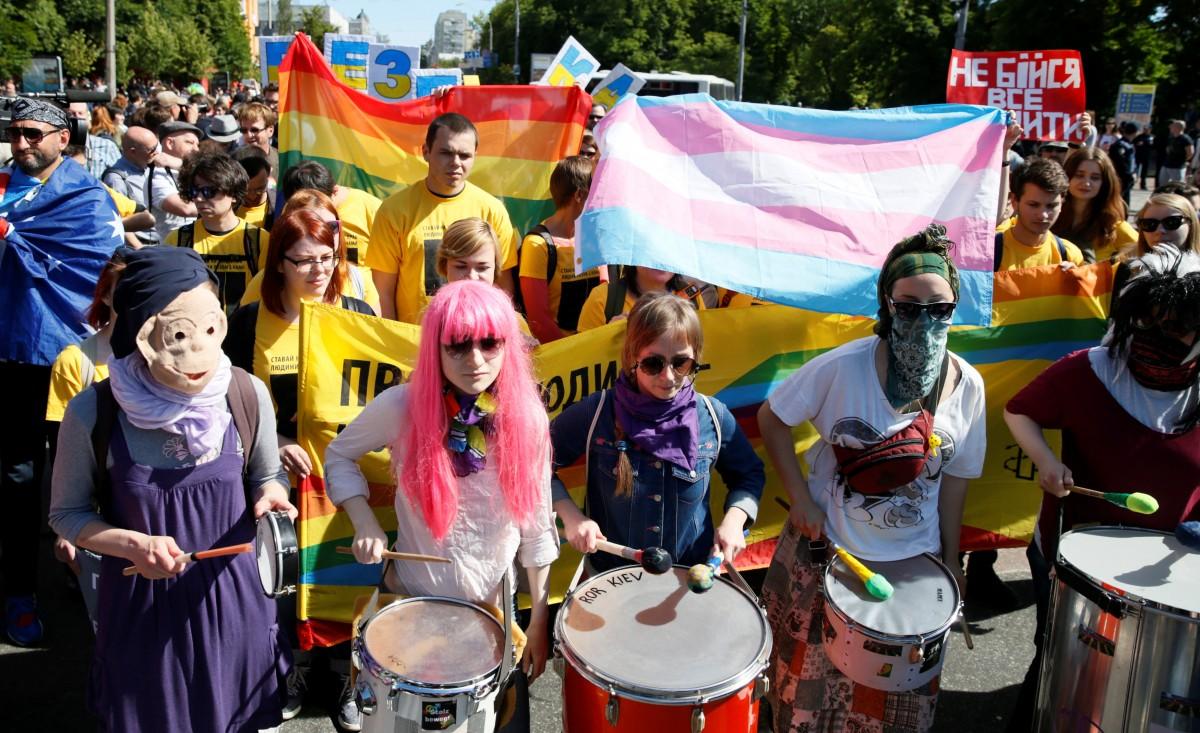 Милиция  Украины раскрыла число участников «Марша равенства» ЛГБТ-сообщества вКиеве