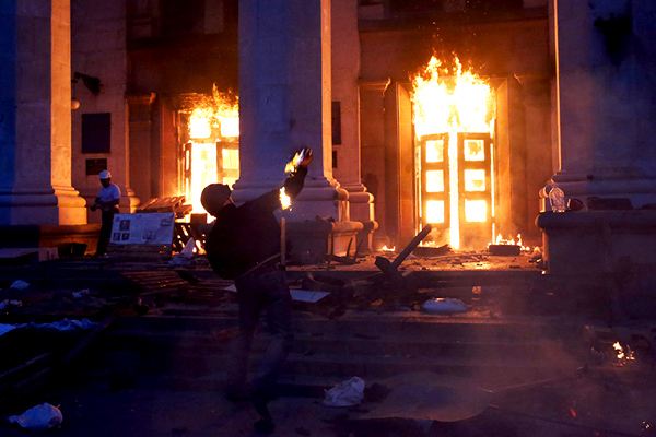 Одесская катастрофа 2мая: тела жертв эксгумируют для экспертизы