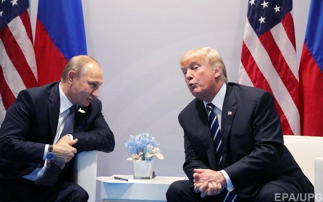 Кремль назвал абсурдной информацию отайной встрече В. Путина иТрампа