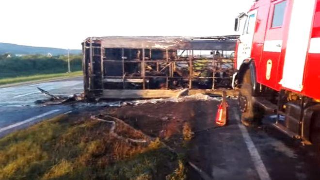 Милиция назвала виновника трагедии савтобусом вТатарстане
