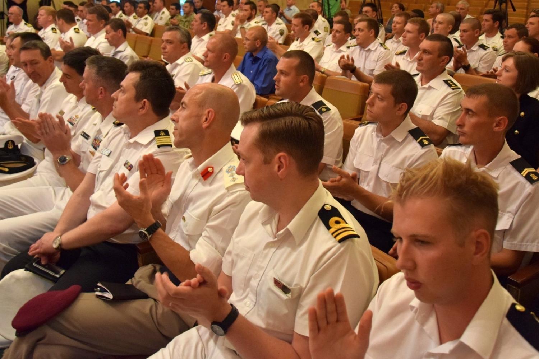 ВОдессе закончились международные военно-морские учения «СиБриз-2017»