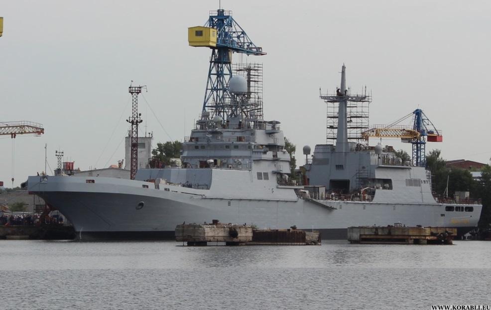 Уграниц Латвии были замечены русские корабли