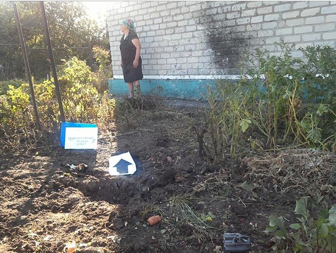 Боевики обстреляли жилые кварталы Новолуганского: разрушена газовая труба