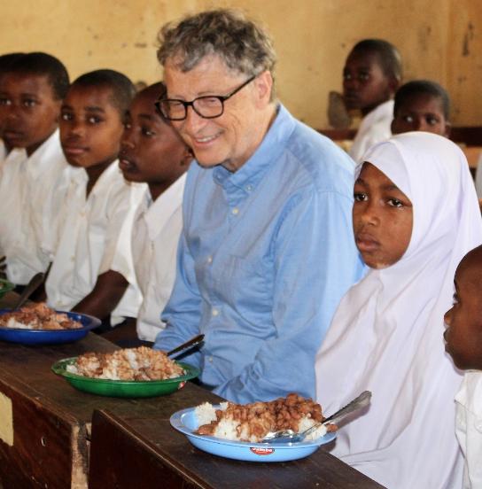Билл Гейтс зарегистрировался в социальная сеть Instagram