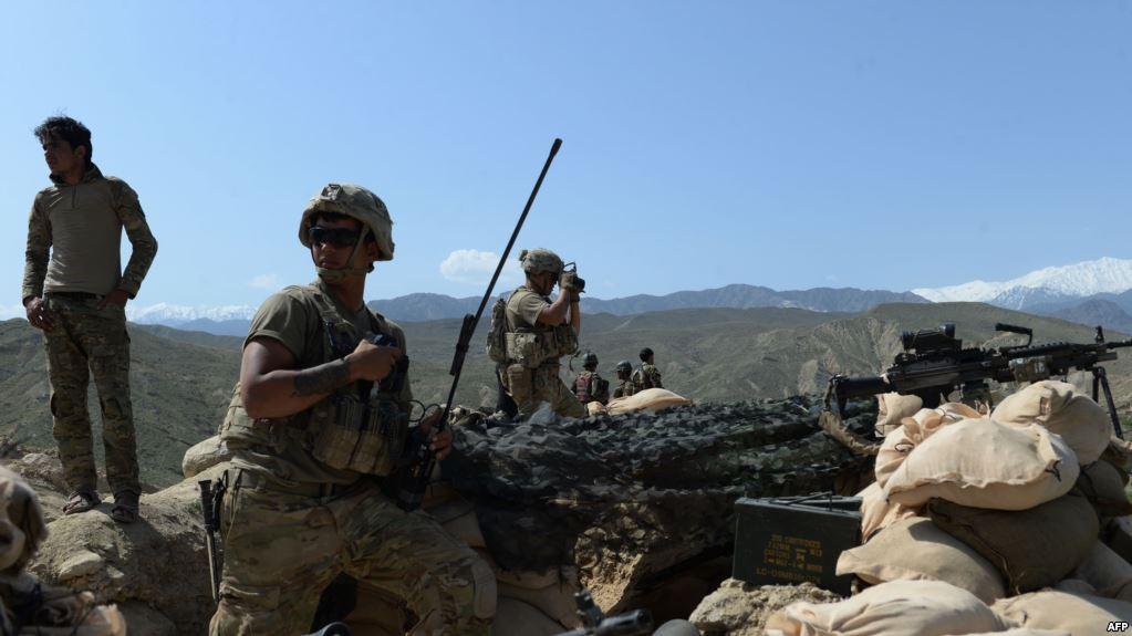 Военнослужащий армии США умер вАфганистане