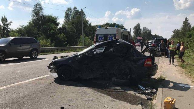 Кортеж Петра Дыминского попал всмертельное ДТП