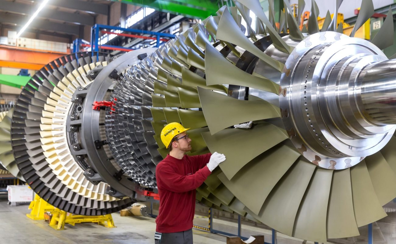 gas turbine industry in asia key