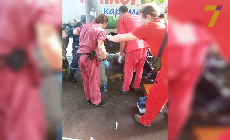 ВОдессе женщина угодила под трамвай