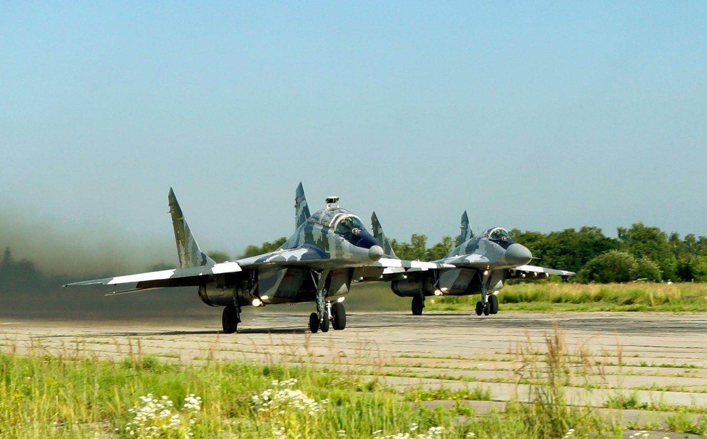 «Почти все части»: Военно-воздушные силы Украины приведены вбоеготовность