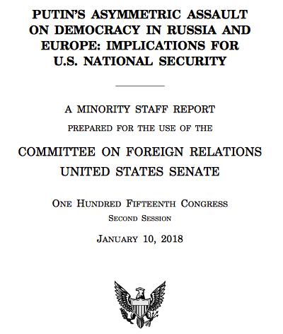 ВСША представили отчет отайных операциях Российской Федерации запоследние 20 лет