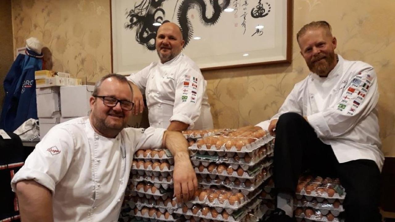 Олимпийская сборная Норвегии поошибке получила 15 тыс. куриных яиц вместо 1500