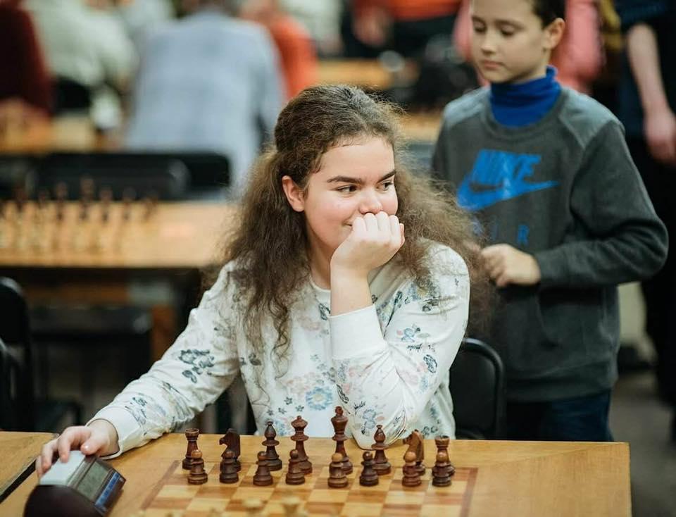 первое знакомство по шахматам