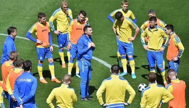 Товарищеский матч. Украина— Саудовская Аравия. Онлайн трансляция прямо наданный момент